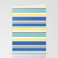 The Summer Stripes Stationery Cards