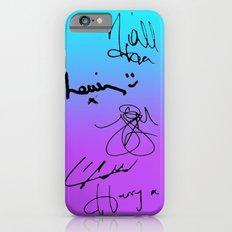 One Direction Signatures iPhone 6 Slim Case