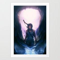Tomb Raider: Definitive Edition Art Print