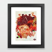 Every Inch Framed Art Print