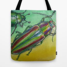 Shinny Beetle Tote Bag