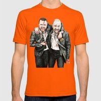 Breaking Bad Mens Fitted Tee Orange SMALL