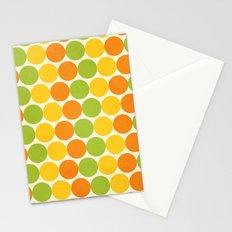 Zesty Polka Stationery Cards