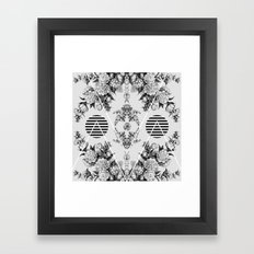vi x iv  Framed Art Print