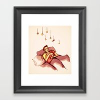 Swapped My Universe For … Framed Art Print