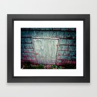 The Secret Door Framed Art Print