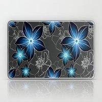 Cobalt And Charcoal Laptop & iPad Skin