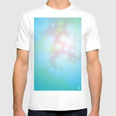 Cellulose White Mens Fitted Tee SMALL