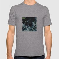 Drowning Mens Fitted Tee Athletic Grey SMALL