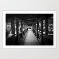 Bridgewalk Art Print