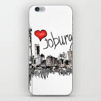 I love Joburg iPhone & iPod Skin