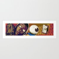 Hunger: Reality in Abstraction Art Print