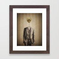 Mr. Whiskers Framed Art Print