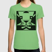0001 Womens Fitted Tee Grass SMALL