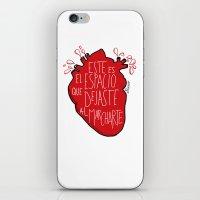 Este Es El Espacio Que D… iPhone & iPod Skin