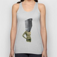 Collapsing New People Unisex Tank Top