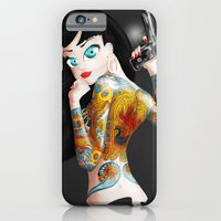 iPhone & iPod Case featuring Chica Yakuza by Ajtun