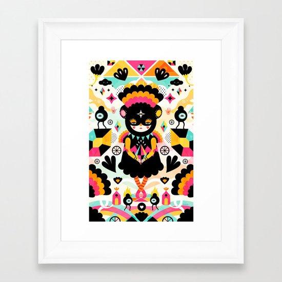 Naiki Framed Art Print