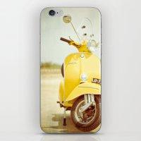 Mod Style In Yellow iPhone & iPod Skin
