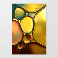 Oil & Water Abstract II Canvas Print