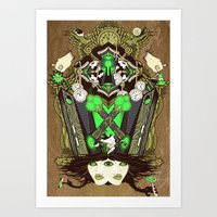 Molly Can't Make Up Her … Art Print