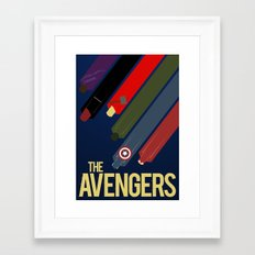 The Avengers Framed Art Print