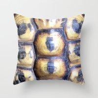 Turtle Tank Throw Pillow