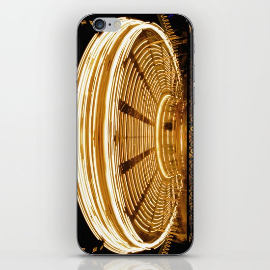 Sit and Spin iPhone & iPod Skin