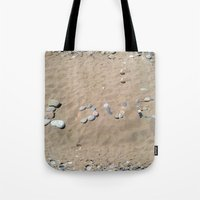 LOVE at the beach Tote Bag