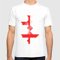 Across Mens Fitted Tee White SMALL