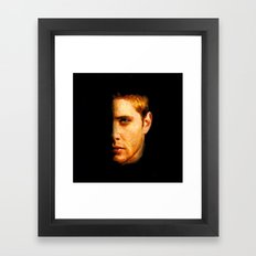 Dean Winchester / Supernatural - Painting Style Framed Art Print