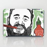 Castro Sauce iPad Case