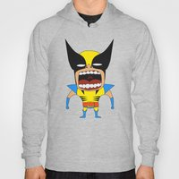 Screaming Wolverine Hoody