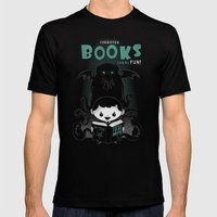 Forbidden Books Can Be F… Mens Fitted Tee Black SMALL