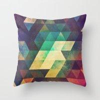 Zymmk Throw Pillow