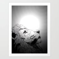 Dont Tame A King Art Print