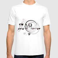 Pen Game Mens Fitted Tee White SMALL