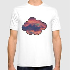 Playful Daydream SMALL White Mens Fitted Tee