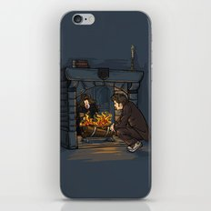 The Witch in the Fireplace iPhone & iPod Skin