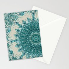 Woven Palm Mandala Stationery Cards