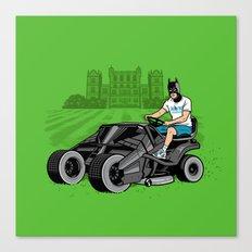 The Bat-mow-bile Canvas Print