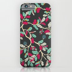 Minty Pinky Branches iPhone 6s Slim Case