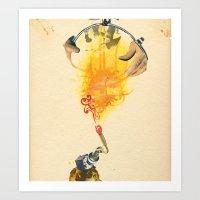 Mingadigm | Feel Me Art Print
