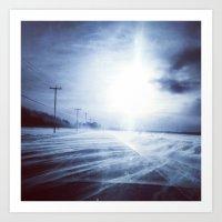 Road to nowhere Art Print