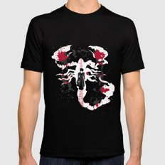 A Walk With The Devil Black Mens Fitted Tee SMALL
