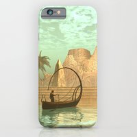iPhone Cases featuring Lampboat with fairy by nicky2342