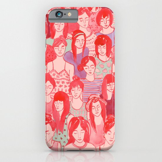 Girl Crowd iPhone & iPod Case