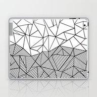 Ab Half N Half Laptop & iPad Skin