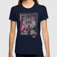 PRIMAL Womens Fitted Tee Navy SMALL
