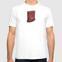 Don't Judge A Book By It… Mens Fitted Tee White SMALL